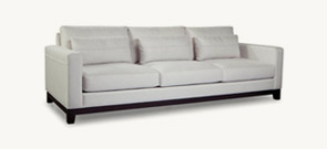 22. Space Sofa with French seam 104″
