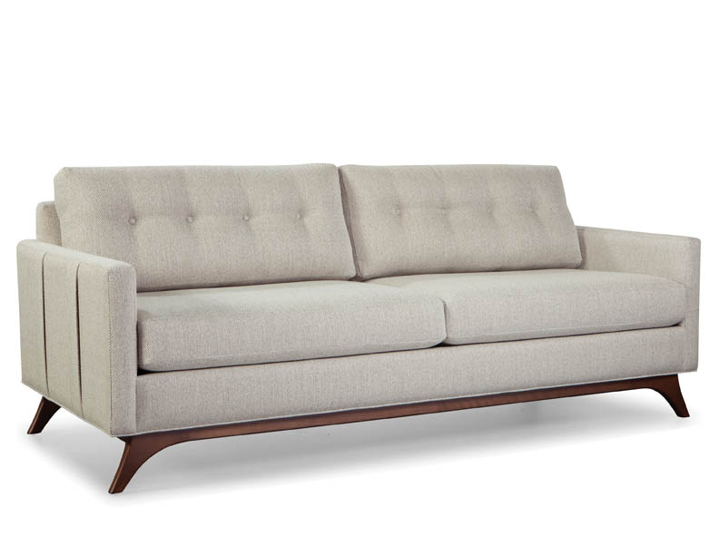 Louie  Sofa with straps 86″