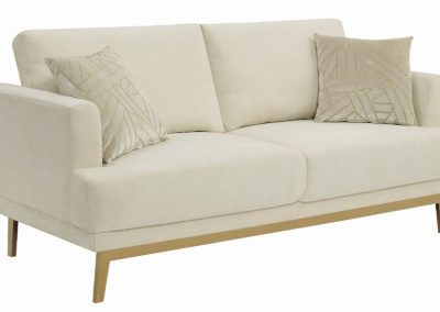 Cream Gold Sofa