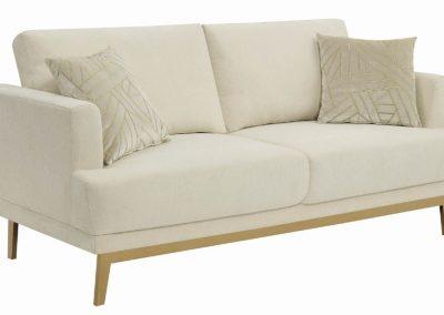Cream Gold Sofa