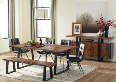 Live Edge Style Dining Table