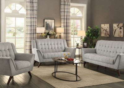 Natalie High Back Sofa Set