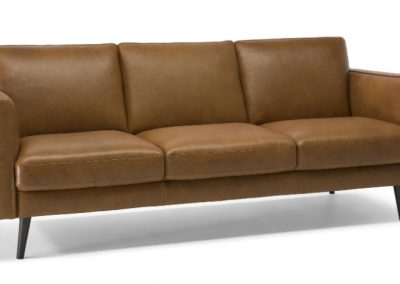 Natuzzi Editions Destrezza Leather Sofa