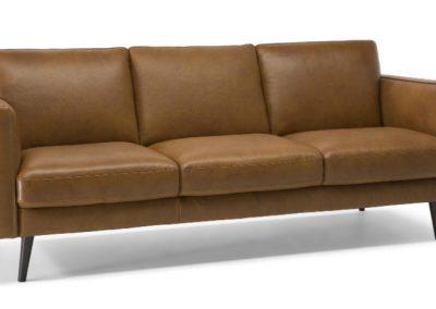 Natuzzi Editions Destrezza Leather Sofa