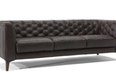Natuzzi Editions Piacere Leather Sofa