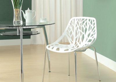 Tree Cutout Dining Chair